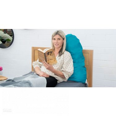 Pyramid Pillow - Best for Reading, Relaxing and Positioning.